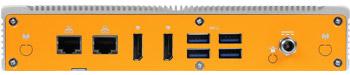 Lüfterloser Skylake Industrie-PC mit Niedrigprofil