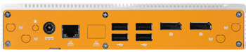 Lüfterloser Apollo Lake Industrie-PC mit Niedrigprofil
